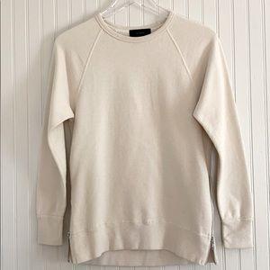 J. Crew Zip Tunic Sweatshirt
